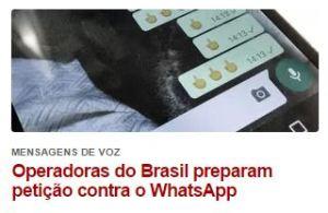 whataspp e operadoras